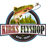 Fly Fishing in Colorado-Logo on Gift Certificates-Kirk's Flyshop