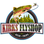 Fly Fishing in Colorado-Gift Certificate Logo-Kirk's Flyshop
