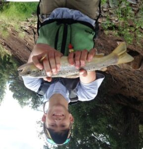 Fly Fishing in Colorado- Rocky Catch-Kirk's Flyshop