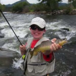 Fly Fishing in Colorado-4 Hour Fly Fishing Trip-Child's Catch-Kirk's Flyshop