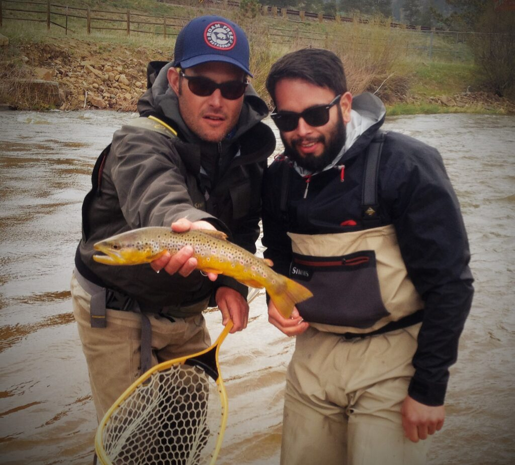 Fly fishing trip rocky mountain national park fly for Hatch fly fishing